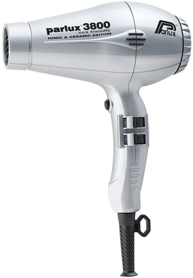 secador parlux 3800 eco-friendly plateado