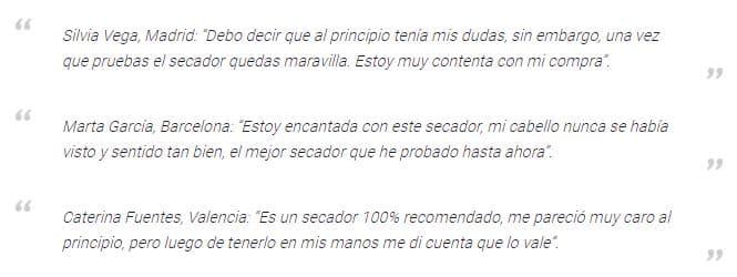 Secador Bellissima My Pro Hydra Sonic opiniones